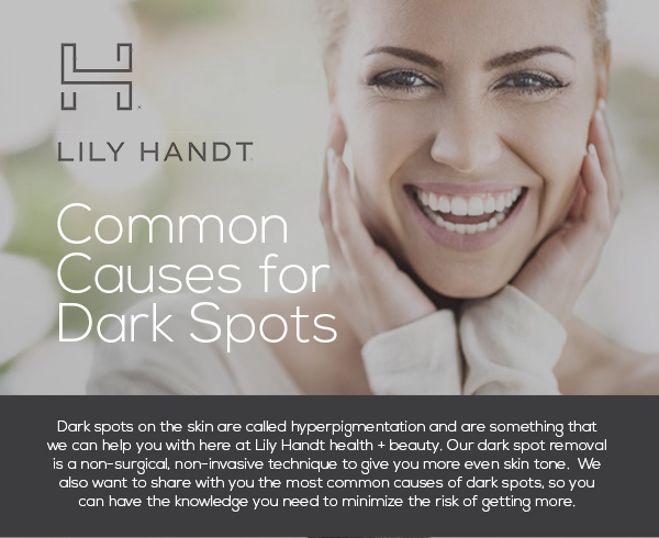 Common Causes for Dark Spots [infographic] – Lily Handt